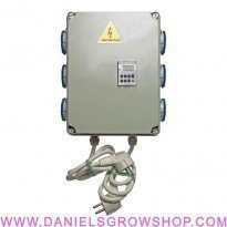 Caja Relé Digital 6x600W 16A