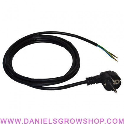 Cable con clavija inyectada 2.5 m