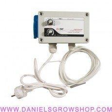 Controller temperatura y velocidad mínima hys
