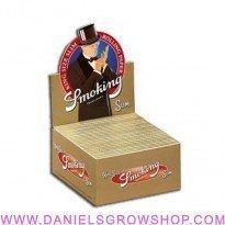 Smoking KS SLIM brown box/50