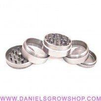 Grinder de aluminio de 5 partes